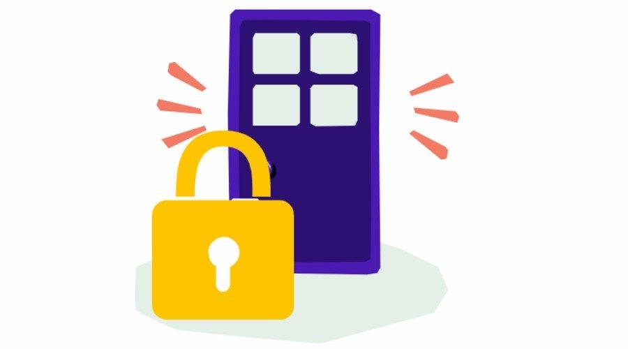 Locked Door Icon