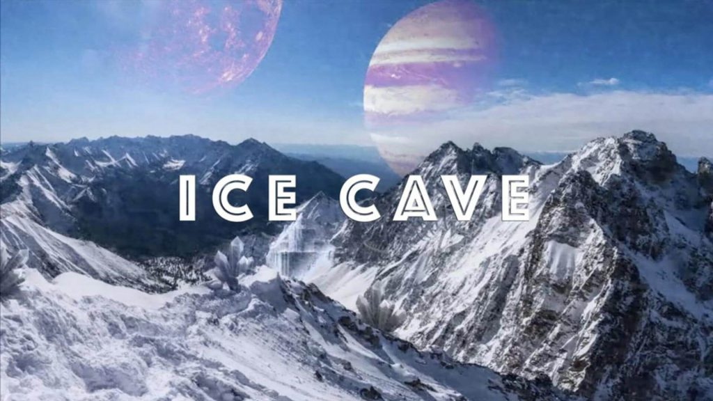 Ice Cave Escape Room Poster