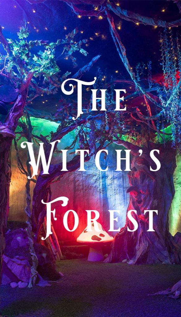 The Witch's Forest Escape Room Poster