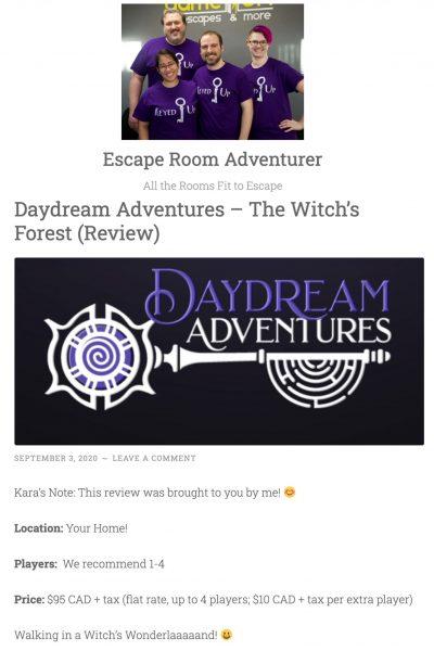 Escape Room Adventurer Article Preview